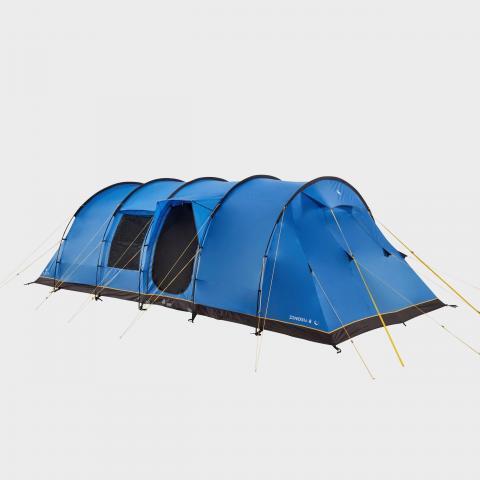 Hi-Gear Zenobia 8 Nightfall Tent - Blue/Blue, Blue/Blue
