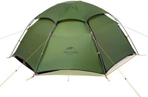 Naturehike Cloud Peak 4 Season Backpacking Tent for 2-3 Person