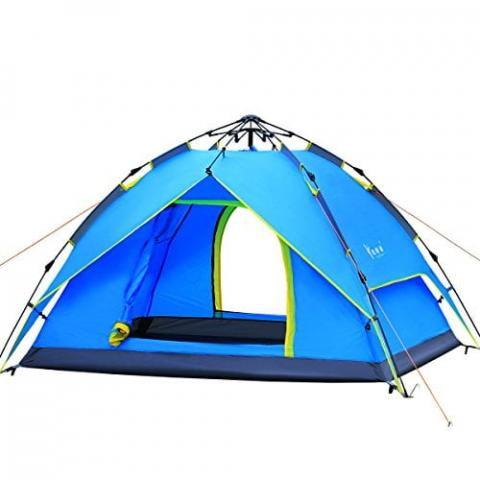 Qisan Hydraulic 3-4 Person Dome Tent