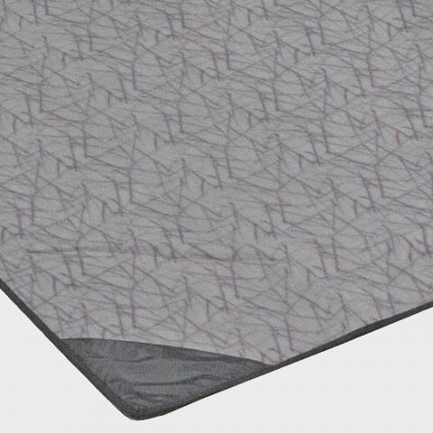 VANGO Icarus 600DLX Tent Carpet, Grey/BRN