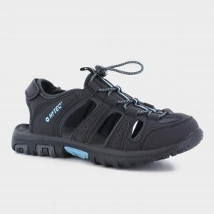 Hi Tec Cove Closed Toe Women's Walking Sandal, BLACK-CHARCOAL/WOMENS